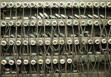 De koplampen van het mijnbouwmateriaal Royalty-vrije Stock Foto's