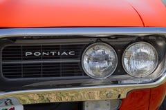 1967 de Koplampen van Pontiac Firebird Stock Afbeeldingen