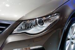 De koplampen van Volkswagen CC Stock Foto