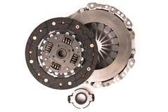 De koppeling van de motor van een auto Stock Foto