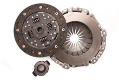 De koppeling van de motor van een auto Stock Afbeelding