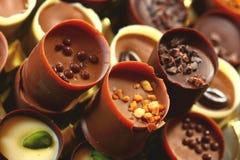 De koppen van de chocolade royalty-vrije stock afbeelding
