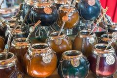 De koppen van de kalebasboompartner Royalty-vrije Stock Afbeeldingen