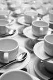 De koppen van de koffie Stock Foto