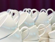 De koppen van de koffie Royalty-vrije Stock Afbeelding