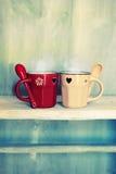 De koppen van de koffie Stock Afbeelding