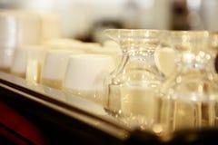 De Koppen van de koffie Stock Foto's
