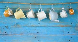 De Koppen van de koffie Royalty-vrije Stock Fotografie