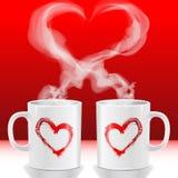 De koppen van de liefde Stock Afbeelding