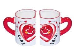 De koppen van de liefde Royalty-vrije Stock Foto