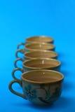 De koppen van de thee Royalty-vrije Stock Fotografie