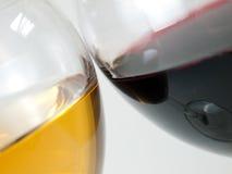 De koppen van de wijn Stock Afbeelding