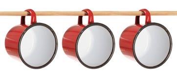 De Koppen van het tin Stock Afbeelding