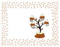 De koppenboom 2 van de koffie. Stock Fotografie
