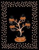 De koppenboom 4 van de koffie. Royalty-vrije Stock Foto's