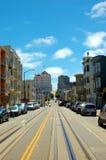 De Kopspijkers van het Karretje van San Francisco Stock Foto