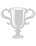 De kopsymbool van de trofee Stock Afbeelding