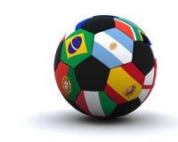 De kopvoetbal 2010 van de wereld Stock Fotografie