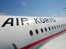 De Koreaanse Luchtroutes van Air Koryo stock fotografie