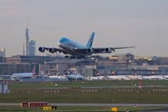De Koreaanse Super Jumbo van Luchtvaartlijnen Royalty-vrije Stock Afbeelding
