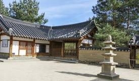 De Koreaanse tuin van Seoel in Berlijn, Duitsland Royalty-vrije Stock Foto
