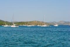De Kornati öarna Fotografering för Bildbyråer