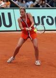 De Kornet van Alize (FRA) in Roland Garros 2009 Royalty-vrije Stock Afbeelding