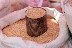De korrel van de rijst Zie mijn andere werken in portefeuille Stock Fotografie
