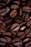 De korrels van Coffe Stock Afbeeldingen