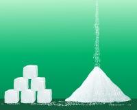 De korrels van de suiker Stock Foto