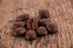 De korrels van koffie Royalty-vrije Stock Foto