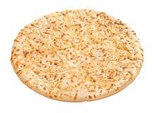 De Korst van de pizza (met het knippen van weg) Royalty-vrije Stock Afbeelding