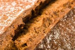 De korst van het brood Stock Afbeelding