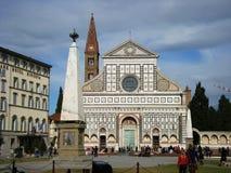 De Korte roman Florence Italië van Di Santa Maria van de basiliek Stock Afbeelding