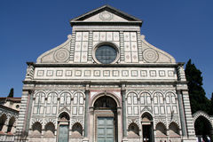 De Korte roman van Santa Maria, Florence Stock Foto's