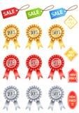 De korting van de pictogramverkoop Royalty-vrije Stock Foto's