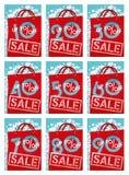 De kortingen van de verkoop royalty-vrije illustratie