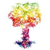 De kortingsboom van de verkoop Stock Fotografie
