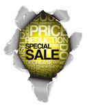 De kortingsreclame van de verkoop Royalty-vrije Stock Foto's