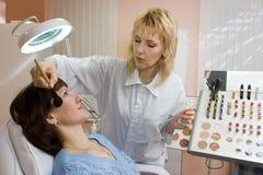 De kosmetiek stock foto