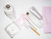 De kosmetiekhulpmiddelen Stock Foto