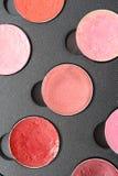 De kosmetische verven van de schoonheid Stock Foto