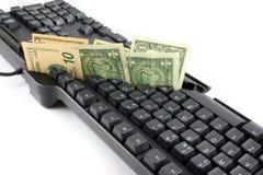 De kosten die van IT 1 snijdt stock foto's