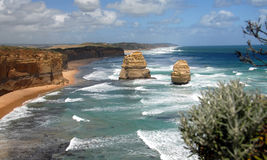 De kosten van Australië Stock Fotografie