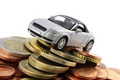 De Kosten van de auto Stock Fotografie