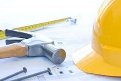 De kosten van de bouw stock foto's
