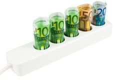De Kosten van de energie royalty-vrije stock foto