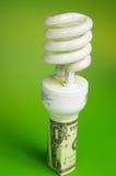 De kosten van de energie Stock Foto