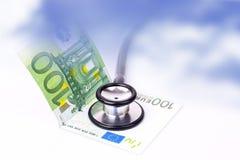 De kosten van de gezondheid Stock Foto