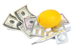 De kosten van de gezondheid Royalty-vrije Stock Foto's